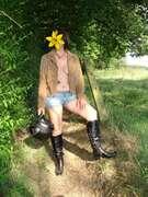 Photos des seins de Jomy, Vive la moto